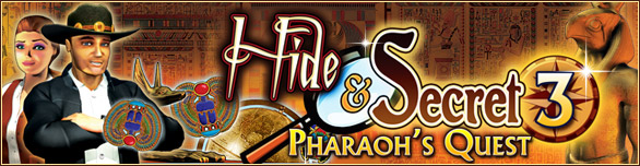 Hide and Secret 3 - Pharaoh's Quest