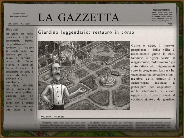 Screenshot del gioco  «Gardenscapes» № 3