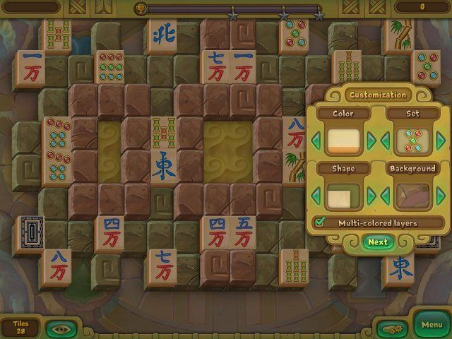 Screenshot del gioco  «Legendary Mahjong» № 4