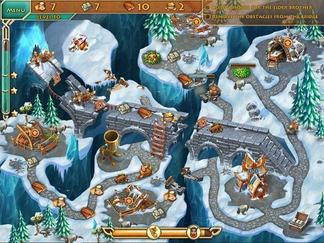 Screenshot del gioco  «Viking Brothers 2» № 2