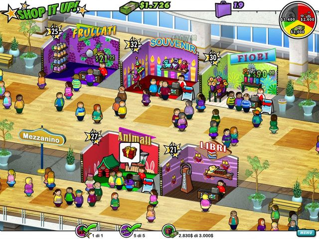 Screenshot del gioco  «Shop It Up!» № 4