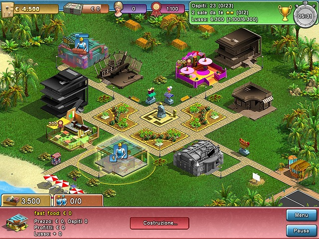 Screenshot del gioco  «Summer Resort Mogul» № 5