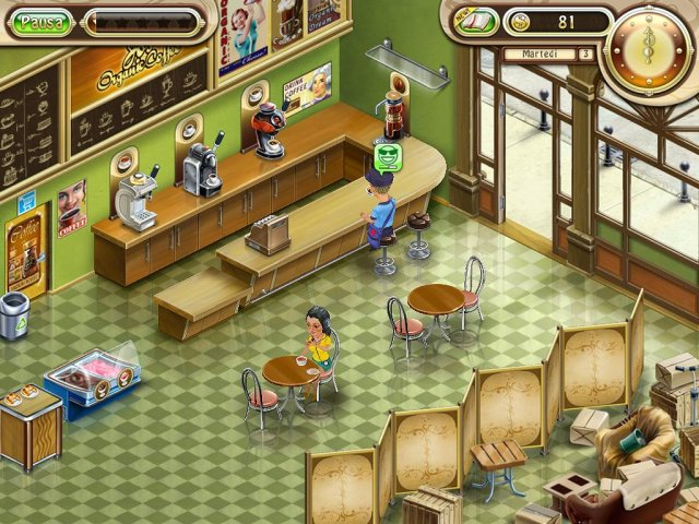 Screenshot del gioco  «Jo's Dream: La Caffetteria» № 3
