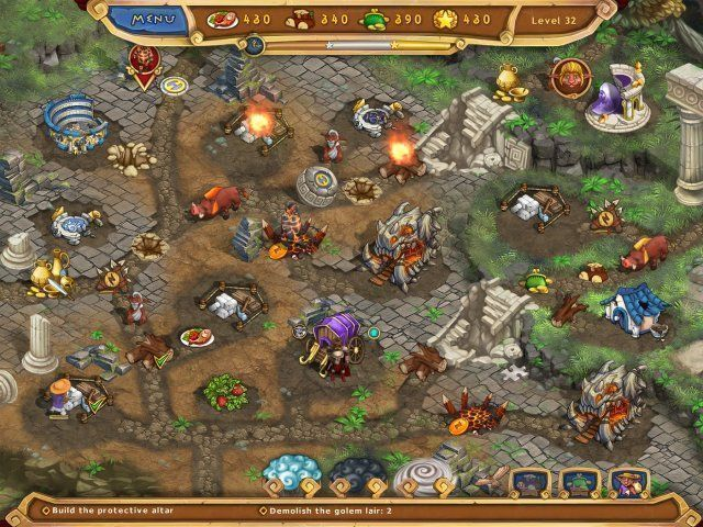 Screenshot del gioco  «Weather Lord: Legendary Hero. Collector's Edition» № 4