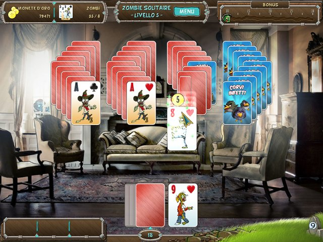 Screenshot del gioco  «Zombie Solitaire» № 4