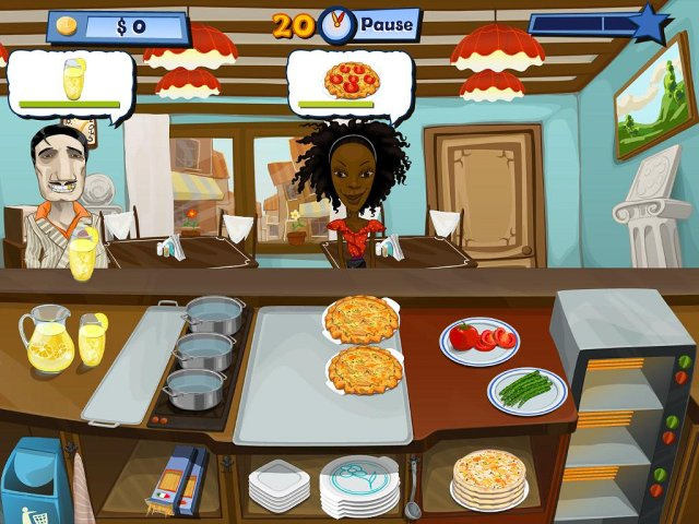 Screenshot del gioco  «Chef felice 2» № 4