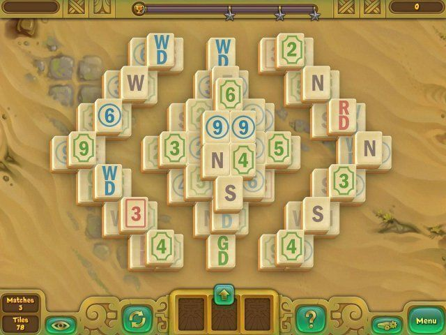Screenshot del gioco  «Legendary Mahjong» № 2