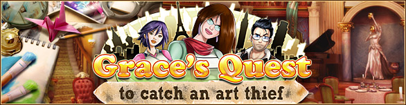 Grace's Quest: To Catch An Art Thief