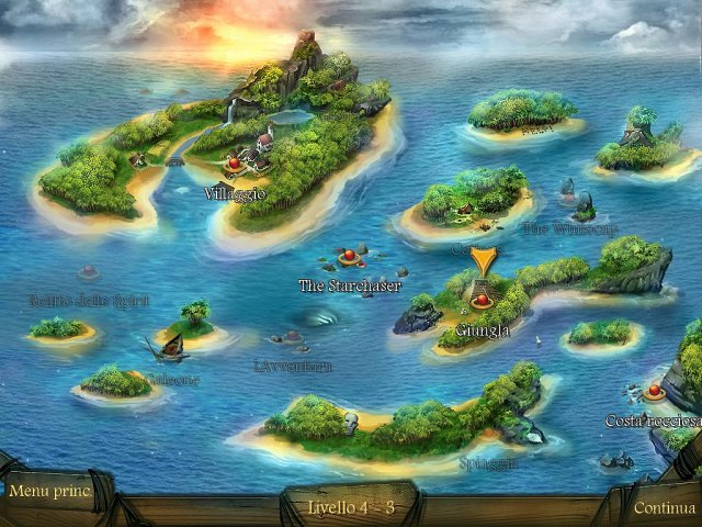 Screenshot del gioco  «Arizona Rose and The Pirates' Riddles» № 2