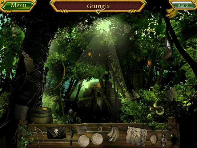 Screenshot del gioco  «Arizona Rose and The Pirates' Riddles» № 3