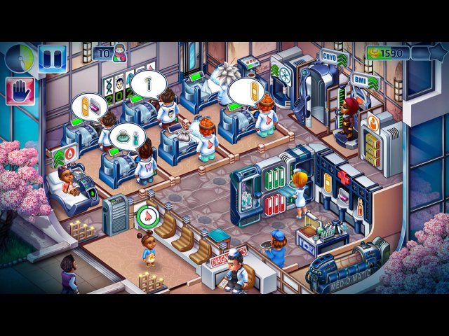 Screenshot del gioco  «Happy Clinic» № 1