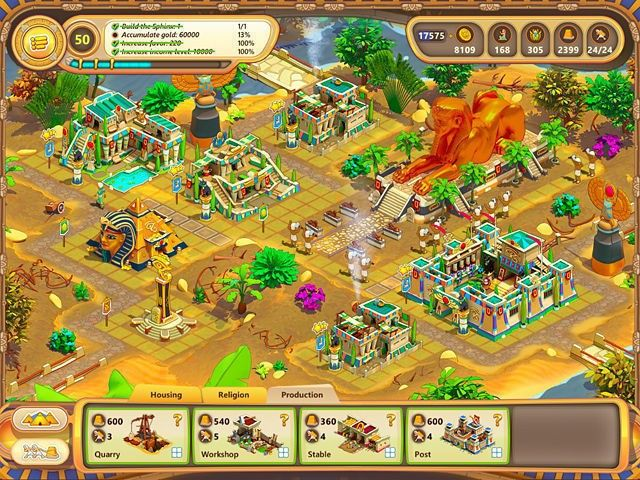 Screenshot del gioco  «Ramses: Rise of Empire» № 2