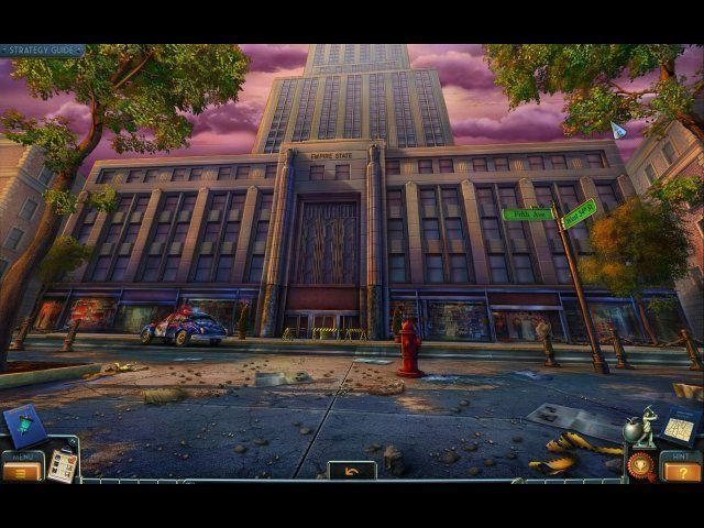 Screenshot del gioco  «New York Mysteries: The Lantern of Souls. Collector's Edition» № 4