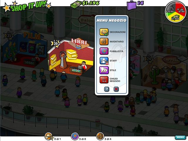 Screenshot del gioco  «Shop It Up!» № 3