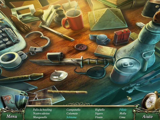 Screenshot del gioco  «9 Clues: IL segreto di Serpent Creek» № 1