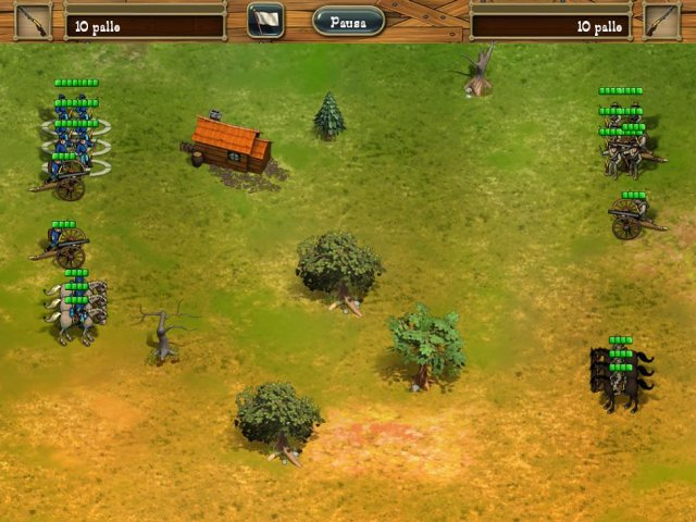 Screenshot del gioco  «The Bluecoats: North vs South» № 2