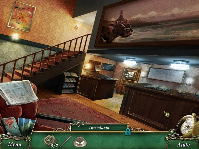 Screenshot del gioco  «9 Clues: IL segreto di Serpent Creek» № 4