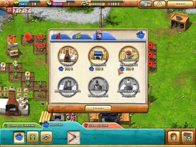 Screenshot del gioco  «Fiona Finch and the Finest Flowers» № 4