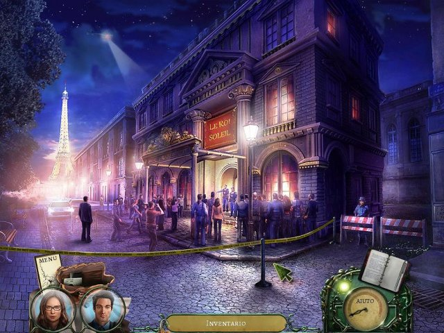 Screenshot del gioco  «Sharpe Investigations: Death on the Seine» № 4